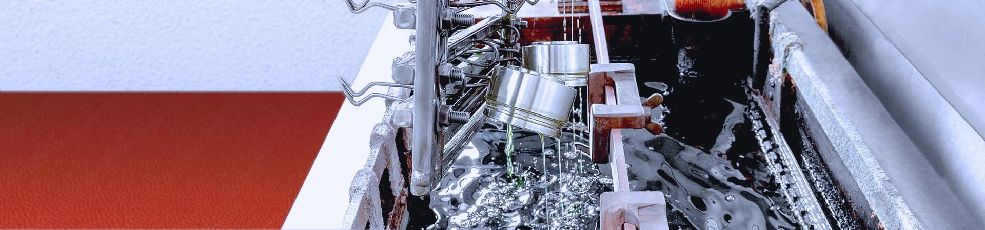 Elektropolieren in einem Ölbad